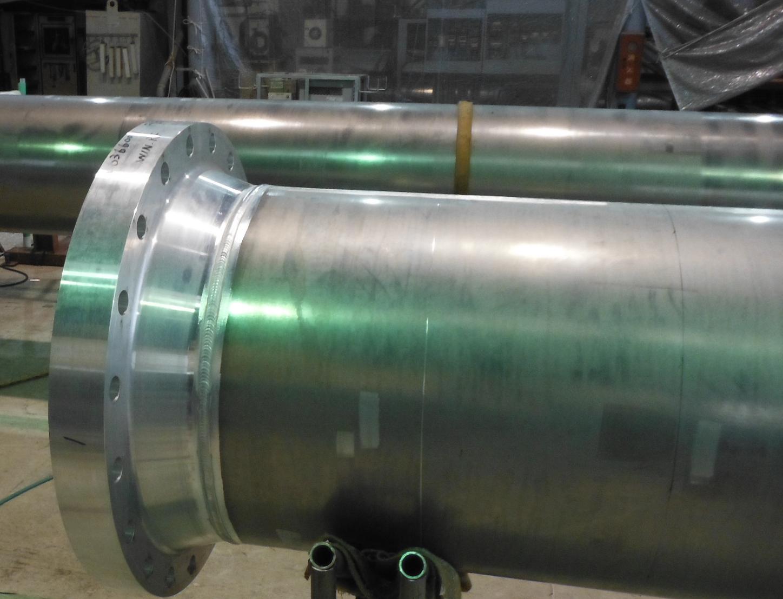 アルミ溶接にも対応できる高い溶接技術