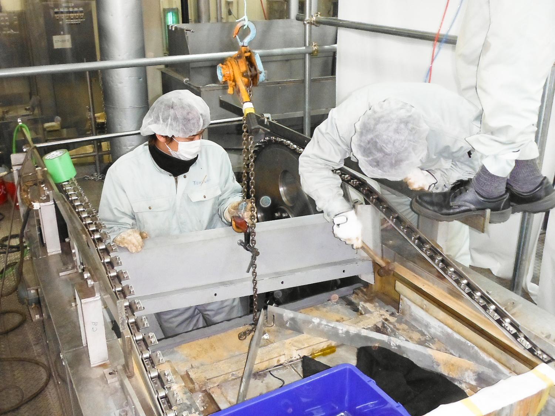 画像:メンテナンス工事(食品工場)
